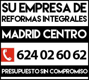 Empresa de reformas integrales en Madrid centro